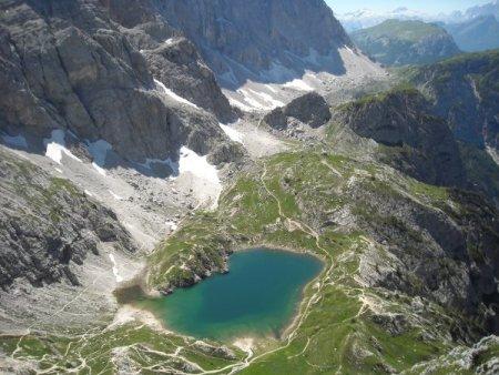 Rifugio coldai lago coldai cima coldai escursione dai for Piani di fattoria del sud
